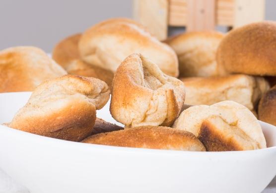Pandesal, typical Filipino gluten laden bread.