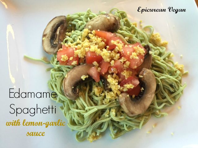 Edamame-Spaghetti-with-Lemon-Garlic-Sauce-Epicurean-Vegan