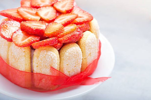 Gluten-Free Strawberry Malakoff
